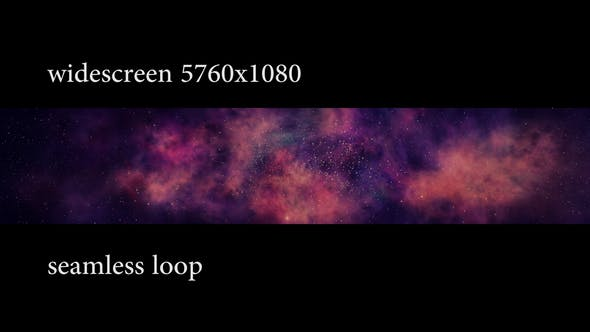 Thumbnail for Rotating Nebula Widescreen