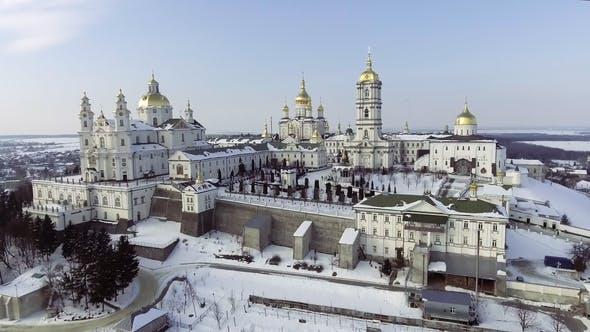 Thumbnail for The Church of Lavra in Pochaev, Ukraine