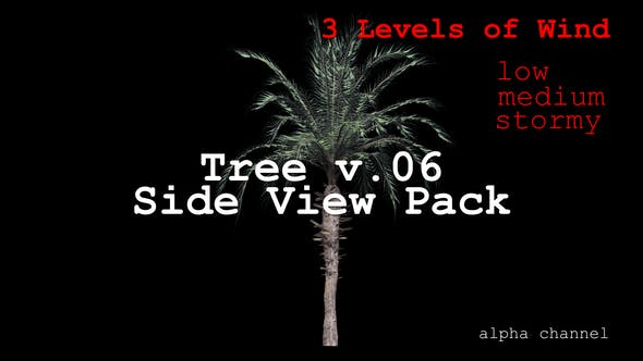Thumbnail for Tree v. 06 Side View Pack