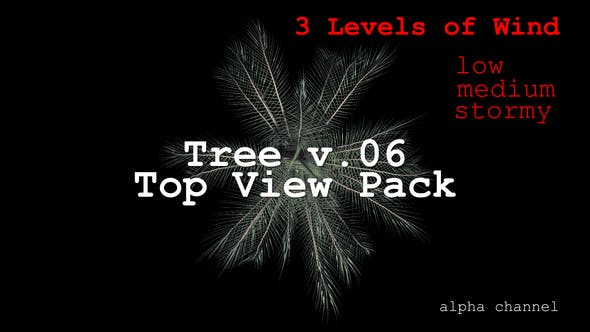 Thumbnail for Tree v. 06 Top View Pack