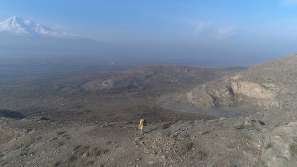 Thumbnail for One Man Walking on the Fog Mountain