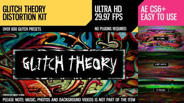 Thumbnail for Glitch Theory (UltraHD Distortion Kit)
