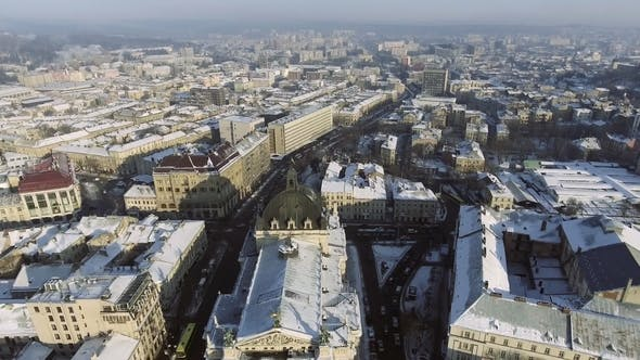 Thumbnail for Central Part of Lviv City