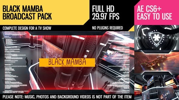 Thumbnail for Black Mamba (Broadcast Pack)