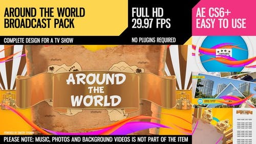 Around The World (Broadcast Pack)