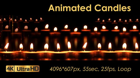 Thumbnail for Animated Candles