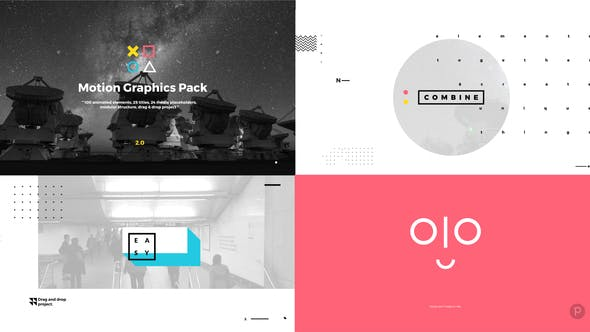 52 Video Templates Compatible with Adobe After Effects