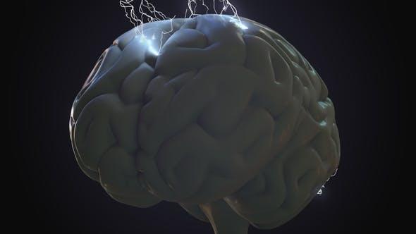 Thumbnail for Lightning Bolts Over Human Brain