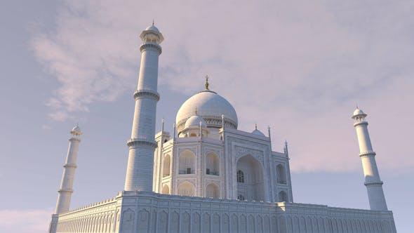 Thumbnail for 4K Taj Mahal 360 Seamless Loop