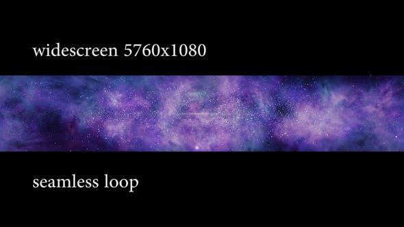 Thumbnail for Rotating Galaxy Widescreen