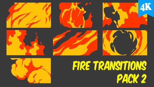 Thumbnail for Fire Transitions Pack 2