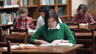 Students Prepare for Exam