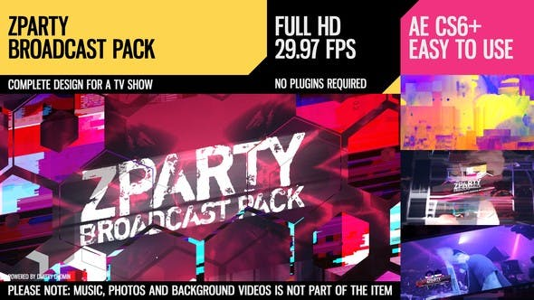 Thumbnail for zParty (Broadcast Pack)