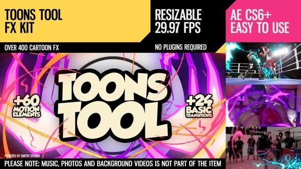 Thumbnail for ToonsTool (FX Kit)