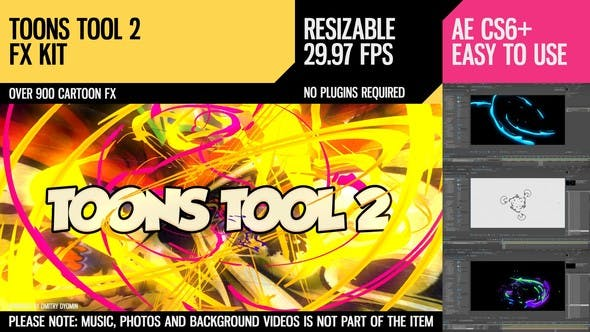 Thumbnail for Toons Tool 2 (FX Kit)