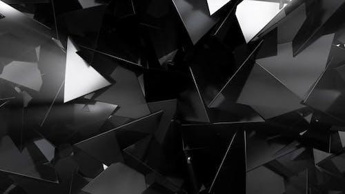 Shiny Black Triangles