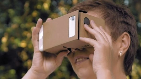 Thumbnail for Exploring Virtual Reality in Cardboard VR Glasses