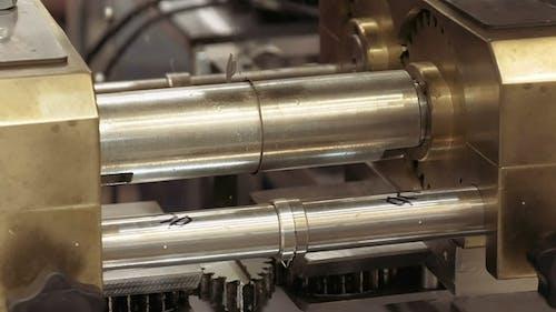 Mechanical Gear Equipment Rotating Cogwheel