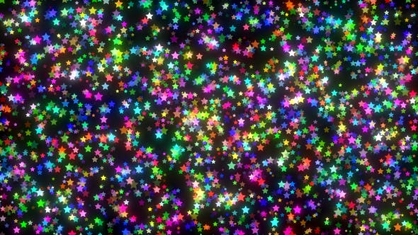 Cover Image for Elegant Colorful Stars