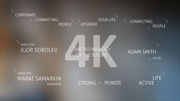 Thumbnail for Technology Titles and Alphabet 4K