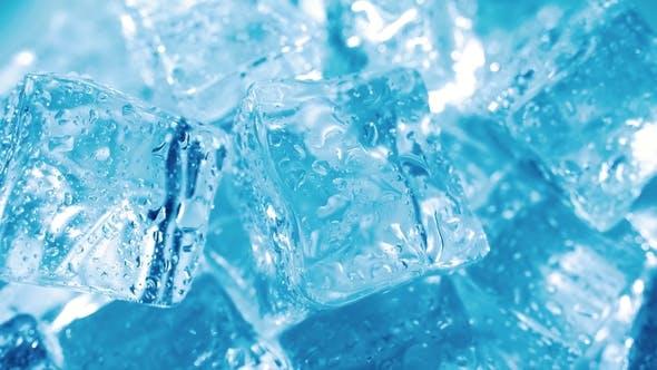 Thumbnail for Eiswürfel, abstrakter Hintergrund