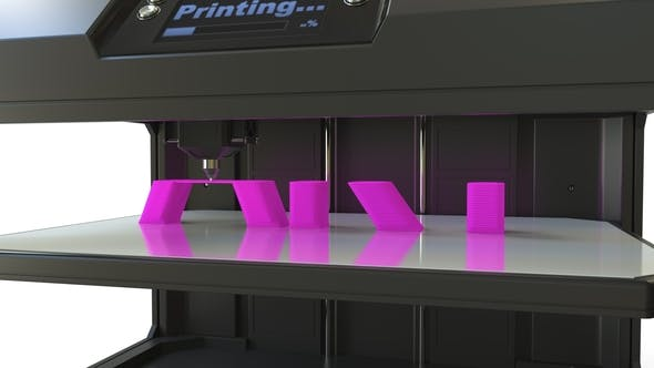 Thumbnail for Printing Pink ART Text with a 3D Printer