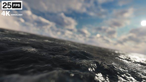 Thumbnail for Fliegen durch das Meer 4K