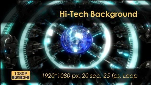 Thumbnail for Hi-Tech Background