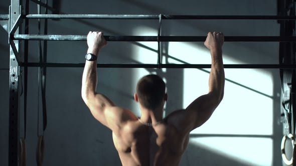 Thumbnail for Anonymous Sportsman Training Back Muscles