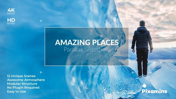 Thumbnail for Amazing Places Parallax SlideShow