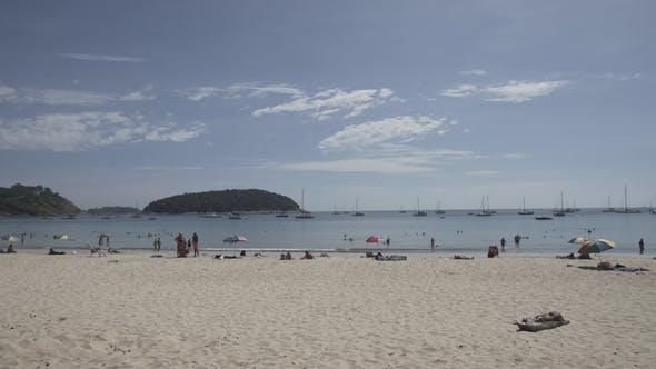 Thumbnail for Nai Harn Beach Phuket Thailand Thai Asia Blue Sea Summer Vacations