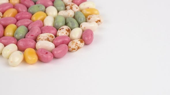 Thumbnail for Loopable Rotating Variety of Colors Jelly Beans. Isolated.