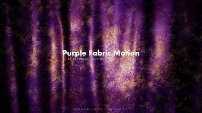 Purple Golden Fabric 4