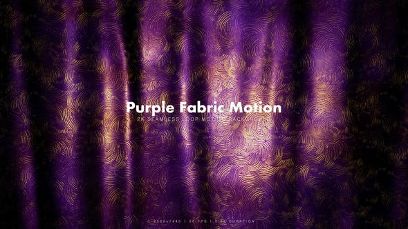 Thumbnail for Purple Golden Fabric 4