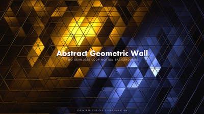 Abstract Geometric Wall