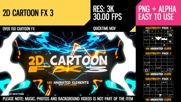 Thumbnail for 2D Cartoon FX 3