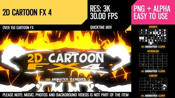 Thumbnail for 2D Cartoon FX 4