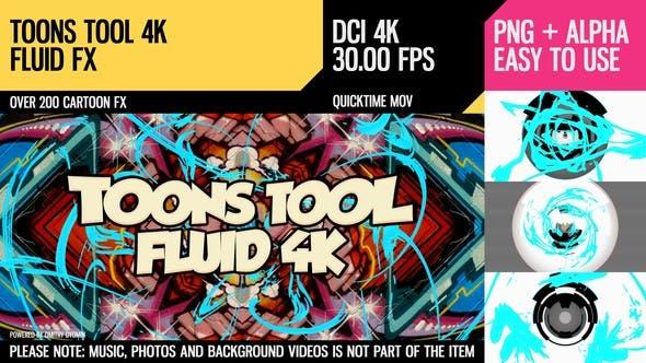 Thumbnail for Toons Tool 4K (Fluid FX)