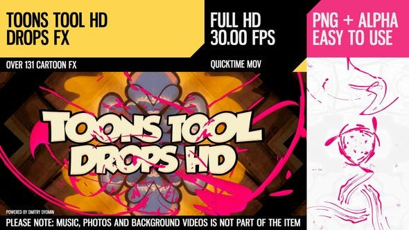 Cover Image for Toons Tool HD (Drops FX)
