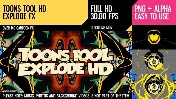 Thumbnail for Toons Tool HD (Explode FX)