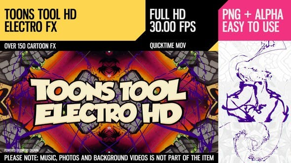 Cover Image for Toons Tool HD (Electro FX)