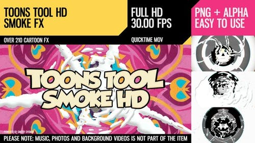 Toons Tool HD (Fumée FX)