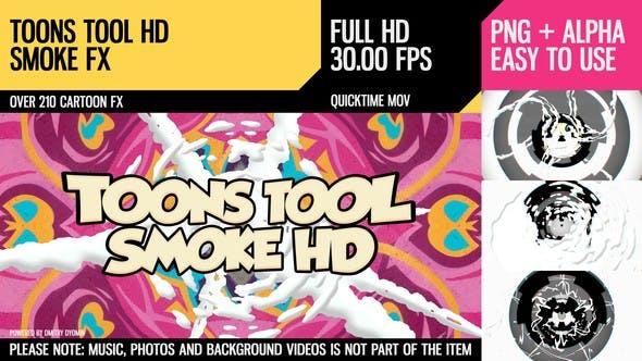 Thumbnail for Toons Tool HD (Smoke FX)