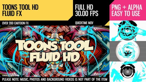 Thumbnail for Toons Tool HD (Fluid FX)