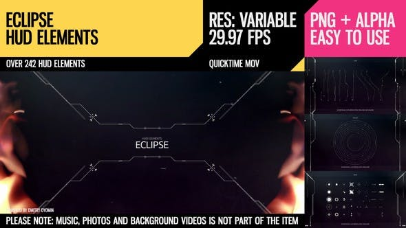 Thumbnail for Eclipse HUD Elements