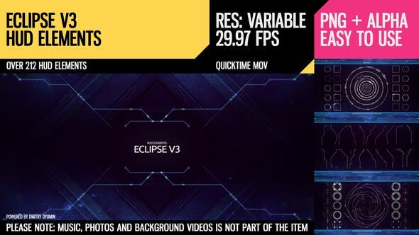 Cover Image for Eclipse V3 HUD Elements