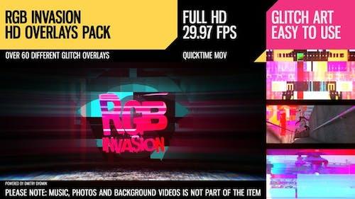 RGB Invasion (Overlays Pack)