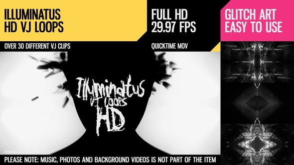 Cover Image for Illuminatus (HD VJ Loops)