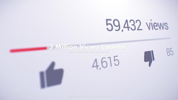 3 Million Views Counter