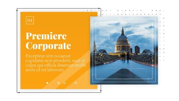 Thumbnail for Clean Corporate - Business Presentation // Premiere Pro